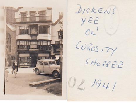 Dickens Yee Ol' Curosity Shoppee 1941