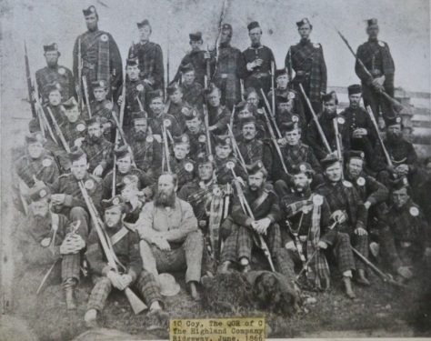 No 10 (Highland) Company, June 1866