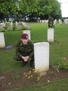 Grave visit