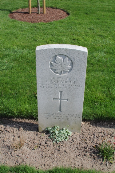 Lt Chadbolt 26th April 1945