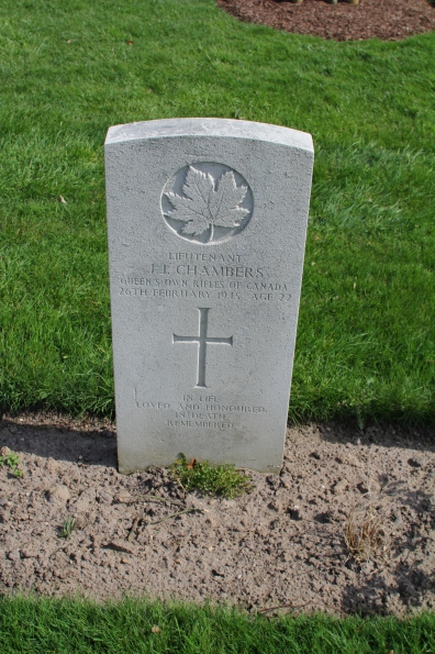 Lt Chambers 26th April 1945
