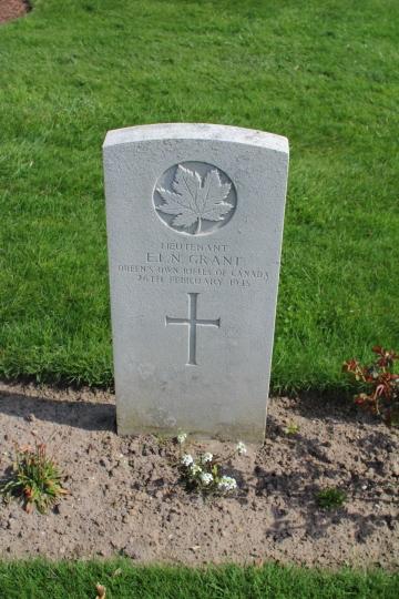 Lt Grant 26th February 1945