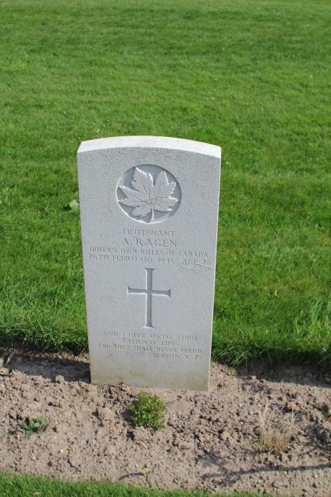 Lt Ragen 26th February 1945
