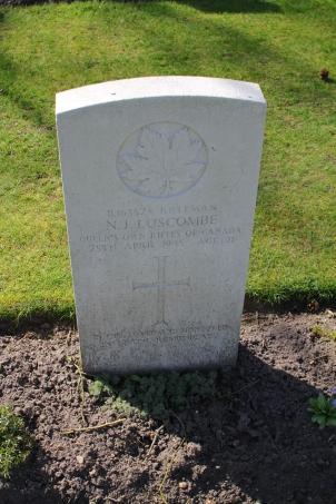 Rfn Luscombe 25th April 1945