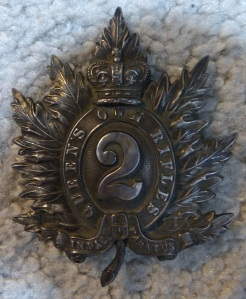 1863 shako plate officer 2