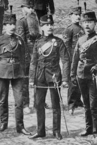 Sergeant Major (later Captain) John F.M. Crean