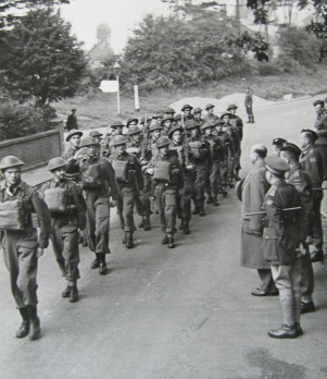QOR march past 25 sept 1942
