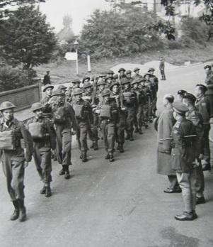 QOR march past 25 sept 1942
