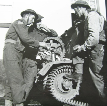 QOR on ex County of Sussex 7-10 July 1943