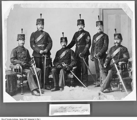 Staff Sergeants Queen's Own Rifles 1879. - 1879