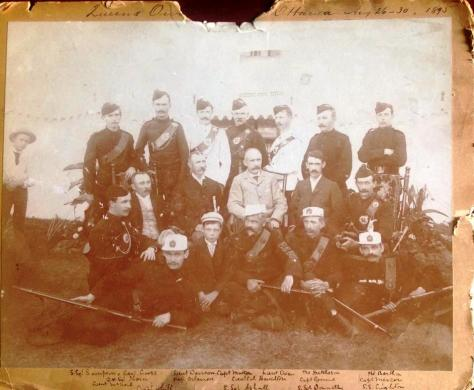1895 Queen's Own Rifles of Canada Shooting Team