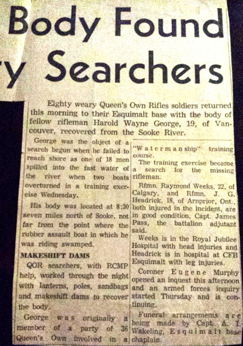 1969 26 Sept Drowning clipping 2a