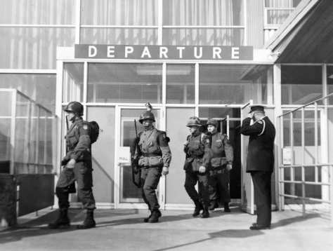 2 QOR 1967 deploying to cyprus