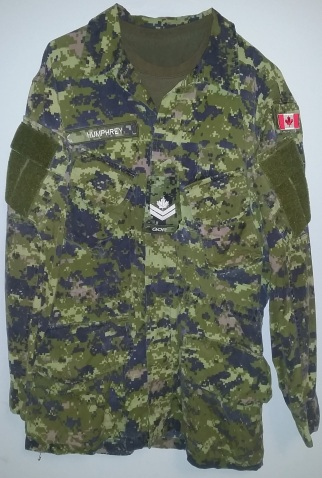 altered cadpat tunic