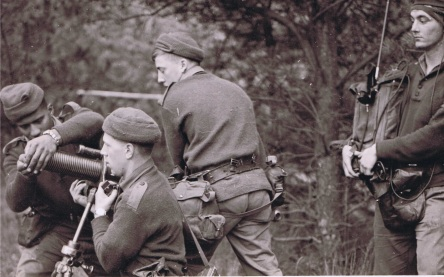 Mortar team 1962