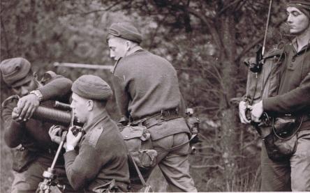 Mortar team 1962