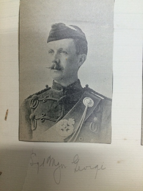 1895 Sgt Major George
