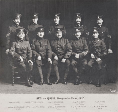 1915 Sgt's Mess