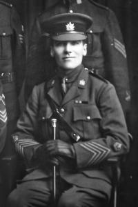 1918 Sgt Maj EA Butler