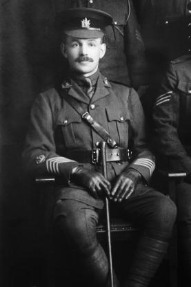 1918 Sgt Maj GF Atkins
