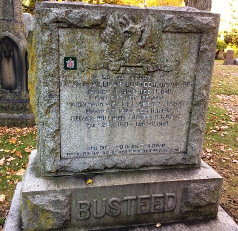 Colour Sergeant William F. Busteed