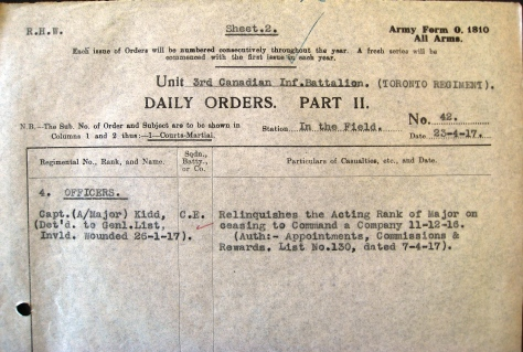 Part II Orders No. 42 (1917)