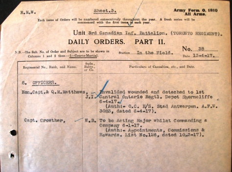 Part II Orders No. 38 (1917)