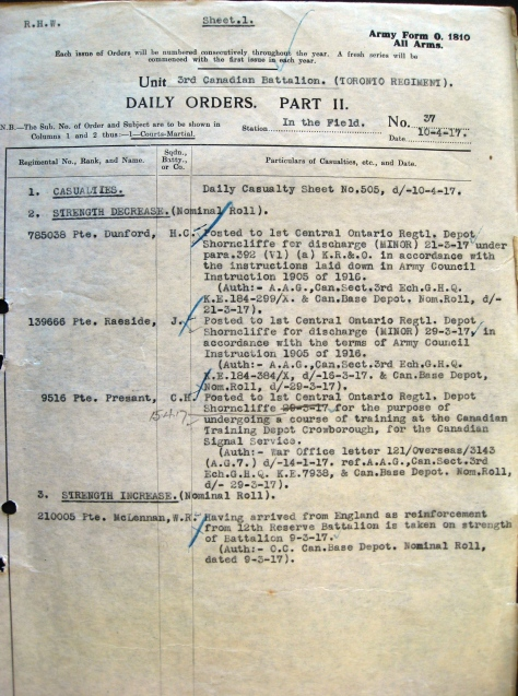 Part II Orders No. 37 (1917)