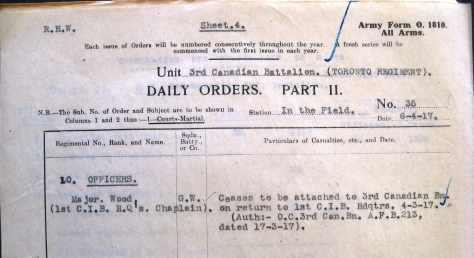 Part II Orders No. 35 (1917)