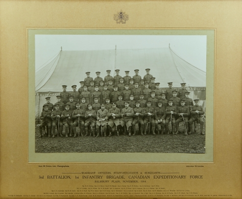 1914, Nov, 3rd Bn