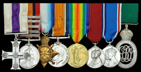 Medals of Colonel John Everett Lyle Streight, MC