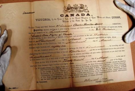 Baird, Charles Hamilton military promotion 2