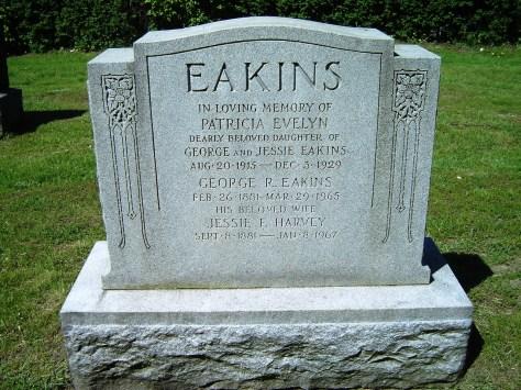 Eakins, George R. Gravemarker