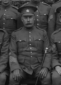 RSM A.B. Reeves 166th Bn 1916