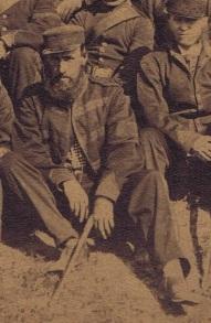 Officer in patrol jacket Nov 4 Company 1866 - QOR Museum Photo