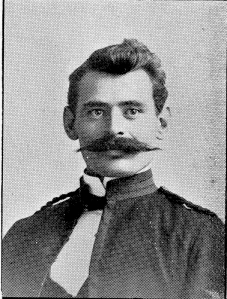 Acting Sgt Maj Jos. E Thompson (after 1894)