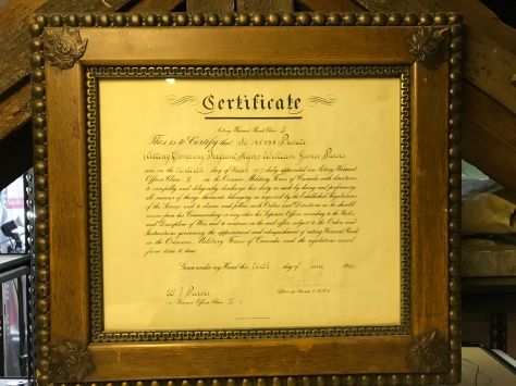 Purvis appointment scroll