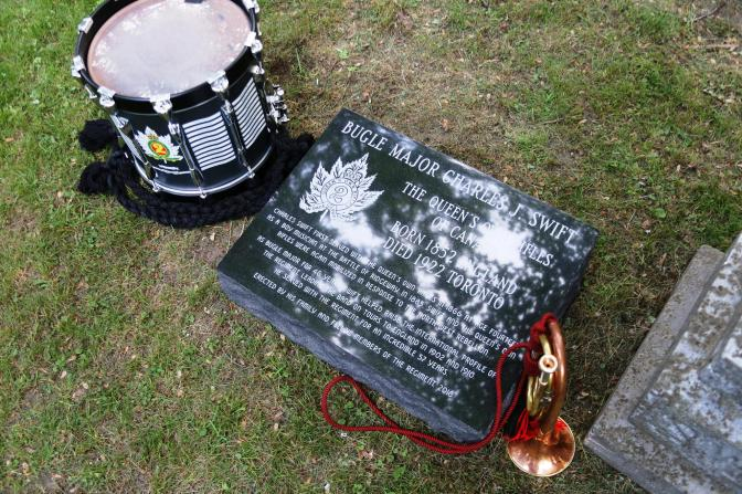 New Swift Grave Marker Unveiled