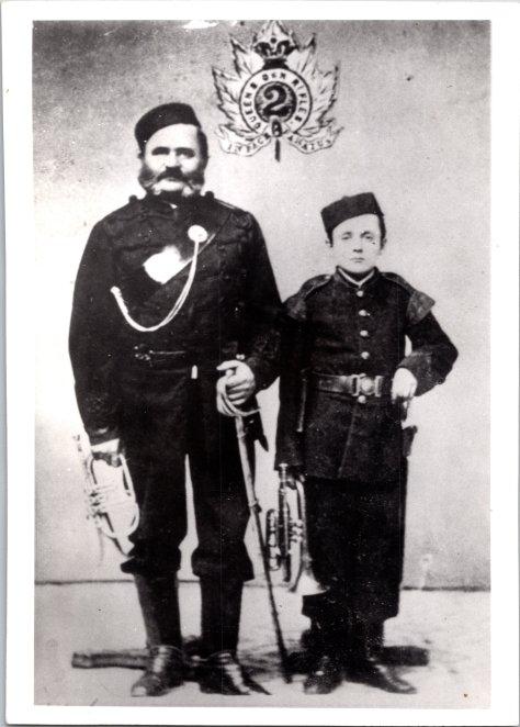 1867 bandmaster henry f. chalaupka and nephew