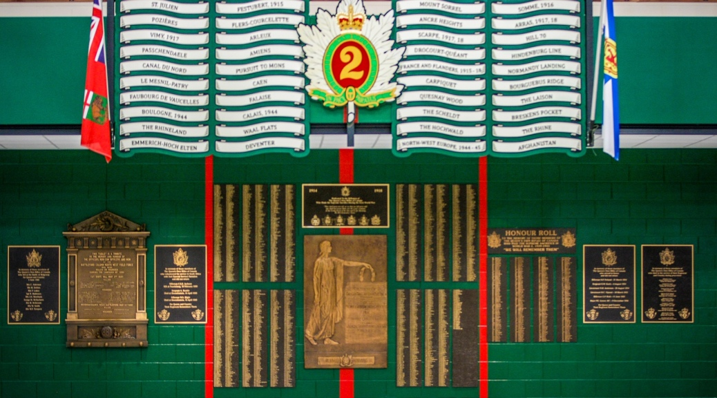 Virtual Wall Of Honour The Queen S Own Rifles Of Canada Regimental Museum And Archive