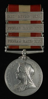Canada General Service Medal (1866, 1870)